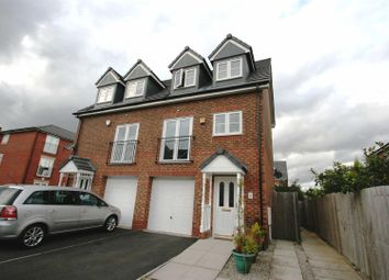 Thumbnail 4 bedroom semi-detached house for sale in Lawnhurst Avenue, Wythenshawe, Manchester