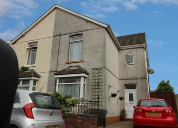 Thumbnail 3 bed semi-detached house for sale in Glanffrwd Road, Swansea, West Glamorgan
