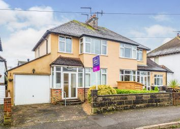 Thumbnail 3 bedroom semi-detached house for sale in Holland Crescent, Oxted