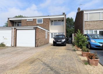 Thumbnail 3 bed semi-detached house for sale in Burden Close, Swindon