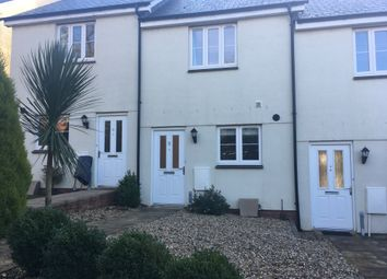 Thumbnail 2 bed terraced house to rent in Betjeman Close, Sidmouth