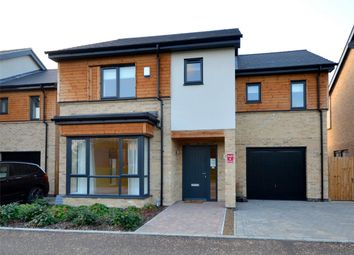 Thumbnail 4 bed detached house for sale in Eaton Close, Eaton Ford, St. Neots