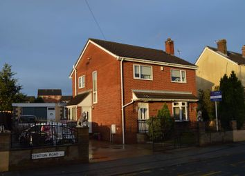 Thumbnail 3 bed detached house for sale in Station Road, Allerton Bywater, Castleford