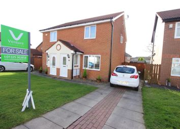 Thumbnail 2 bed semi-detached house for sale in Lockyer Close, Newton Aycliffe