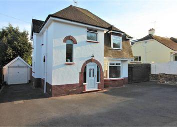 Thumbnail 3 bed detached house for sale in Borough Park Road, Paignton