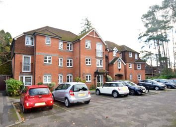 Thumbnail 2 bed flat for sale in Silverwood Court, Branksomewood Road, Fleet