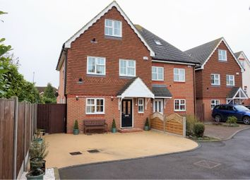 Thumbnail 4 bed semi-detached house for sale in The Landway, Bearsted