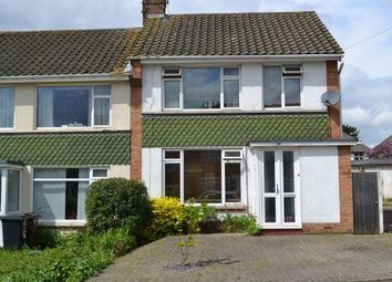 Thumbnail 3 bed semi-detached house for sale in Laburnum Crescent, Spinney Hill, Northampton