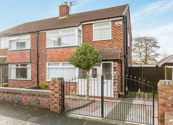 Thumbnail 3 bed semi-detached house for sale in Baldock Close, Thelwall, Warrington, Cheshire