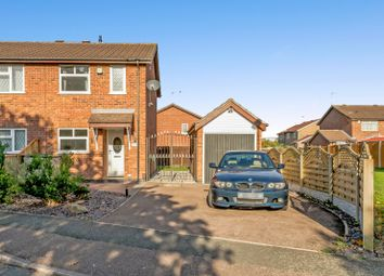 Thumbnail 2 bed semi-detached house for sale in Glastonbury Road, Derby
