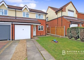 Thumbnail 3 bed semi-detached house for sale in Naseby Way, Thorpe St. Andrew, Norwich