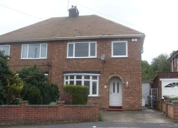 Thumbnail 3 bed semi-detached house to rent in Saxby Crescent, Wellingborough, Northamptonshire