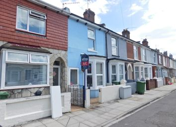 Thumbnail 3 bed terraced house to rent in Lynn Road, Portsmouth