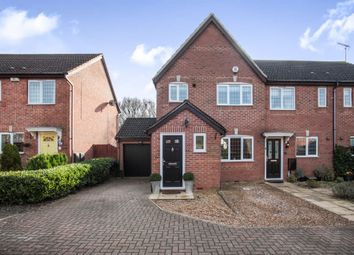 Thumbnail 3 bedroom end terrace house for sale in Badgers Gate, Dunstable