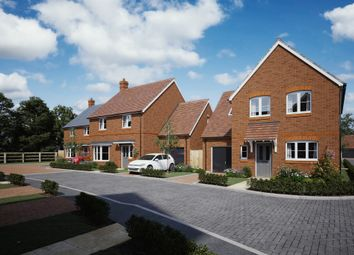 Thumbnail 4 bed detached house for sale in Saye & Sele Close, Grendon Underwood, Aylesbury