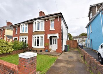 Thumbnail 3 bed semi-detached house for sale in Homelands Road, Rhiwbina, Cardiff.