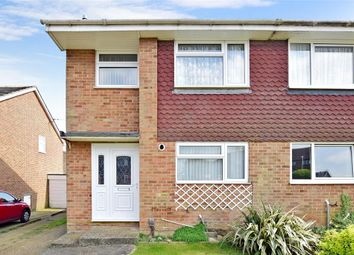 Thumbnail 3 bed semi-detached house for sale in Downside Road, Whitfield, Dover, Kent
