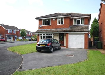Thumbnail 4 bed detached house for sale in Gresford Close, Callands, Warrington