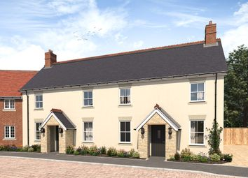 Thumbnail 2 bed end terrace house for sale in Crouch Hill Close, Holwell, Sherborne