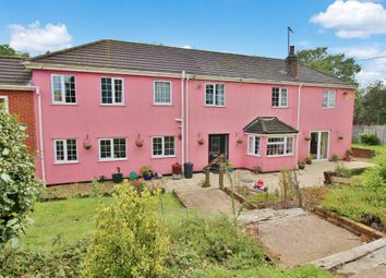 Thumbnail 4 bed link-detached house for sale in Pack Lane, Strumpshaw, Norwich