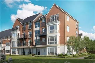 Thumbnail 2 bed flat for sale in Peters Village, Hall Road, Wouldham