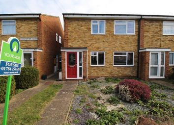 Thumbnail 2 bed flat for sale in Stanwell Road, Ashford