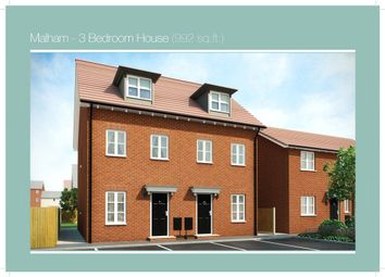 Thumbnail 3 bed semi-detached house for sale in Plot 105 Malham Phase 3, Navigation Point, Cinder Lane, Castleford
