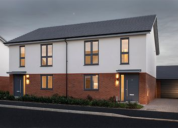"Thumbnail 3 bed property for sale in ""Renzo"" at Blanchard Road, Tadpole Garden Village, Swindon"