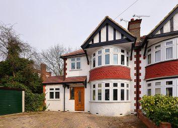 Thumbnail 4 bed property to rent in Queens Walk, Harrow