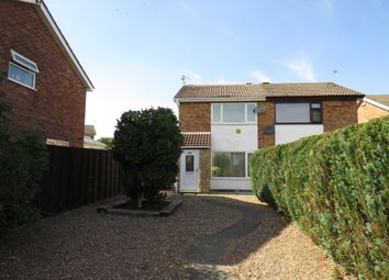 Thumbnail 2 bed semi-detached house for sale in Oldenburg Road, Corby