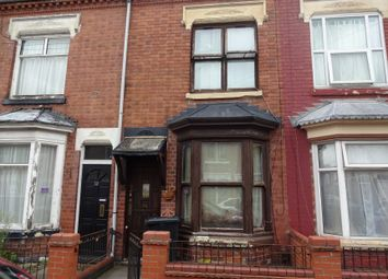 Thumbnail 3 bed terraced house for sale in Cranmer Street, Off Hinckley Road, Leicester