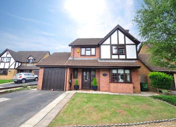 Thumbnail 3 bed detached house for sale in Oakleigh Court, Henllys, Cwmbran