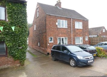 Thumbnail 3 bed semi-detached house to rent in Sluice Road, South Ferriby, Barton-Upon-Humber