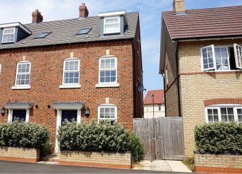 Thumbnail 4 bed end terrace house for sale in Walford Grove, Kempston, Bedford