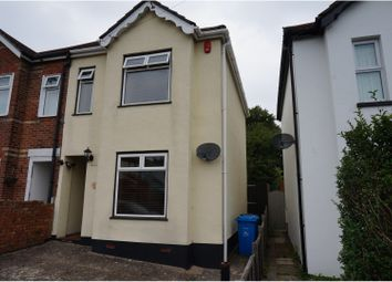 Thumbnail 2 bed semi-detached house for sale in Library Road, Poole
