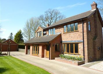 Thumbnail 4 bed detached house for sale in Bridge Cottage, Tetney Lock Road, Tetney Lock, Grimsby
