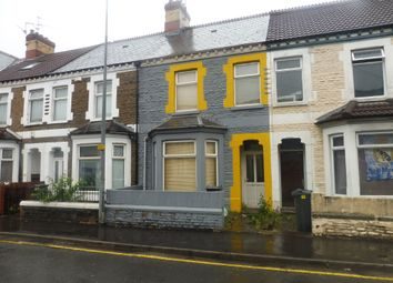 Thumbnail 4 bedroom terraced house for sale in Mackintosh Place, Roath, Cardiff