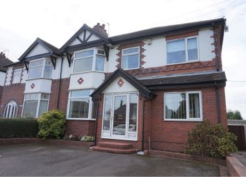 Thumbnail 4 bed semi-detached house for sale in Grove Road, Mount Pleasant, Stoke-On-Trent