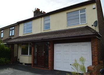 Thumbnail 4 bed semi-detached house to rent in Stanley Road North, Rainham, Greater London