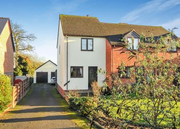Thumbnail 2 bedroom end terrace house for sale in Hanbury Green, Shobdon, Leominster