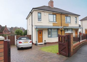 Thumbnail 3 bed semi-detached house for sale in Woodville Road, Meir, Stoke-On-Trent, Staffordshire
