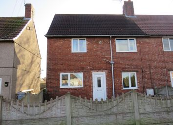 Thumbnail 2 bed semi-detached house for sale in Church Road, Clipstone Village, Mansfield
