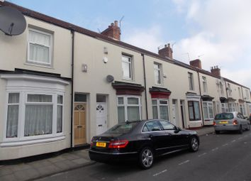 Thumbnail 3 bed terraced house for sale in Bow St, Middlesbrough