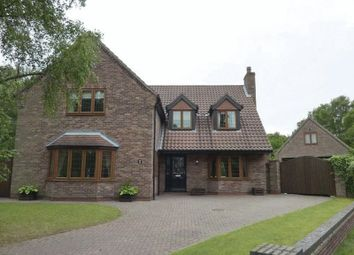 Thumbnail 4 bed detached house for sale in Chaffinch Close, Scunthorpe