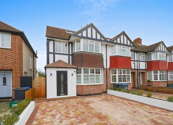 Thumbnail 4 bed end terrace house for sale in Kingshill Avenue, Worcester Park