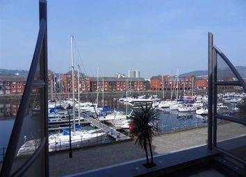 Thumbnail 1 bedroom flat for sale in Meridian Wharf, Swansea, Swansea