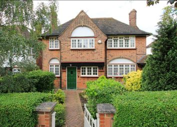Thumbnail 4 bedroom detached house for sale in The Ridgeway, Golders Green, London