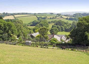Thumbnail 4 bed equestrian property for sale in North Bovey, Newton Abbot, Devon