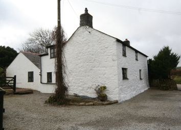 Thumbnail 5 bed cottage to rent in Tregolls, Stithians, Stithians, Truro