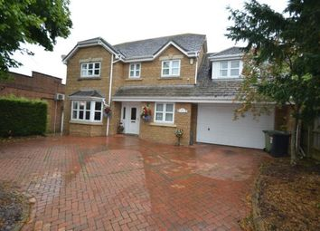 Thumbnail 5 bed detached house for sale in Orlingbury Road, Little Harrowden, Wellingborough